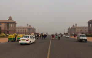 Blick aufs India Gate ... theoretisch ;)