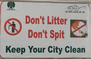Don't Litter, Don't Spit