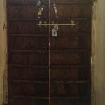 Zimmertür von innen