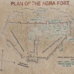 Übersichtskarte Agra Fort / Rotes Fort