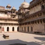 Brunnen im Jahangiri Mahal